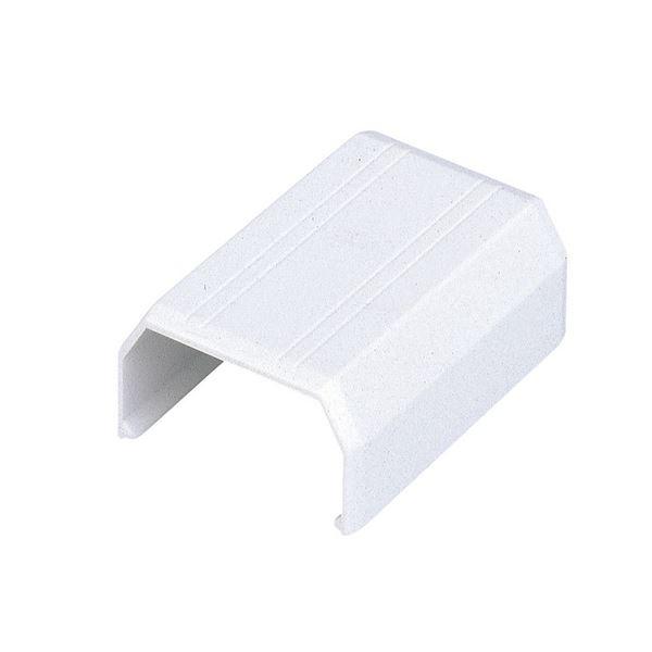 (まとめ) エレコム フラットモール接続ユニット ジョイント 幅17mm用 ホワイト LD-GAFJ1/WH 1個 【×100セット】 送料無料!