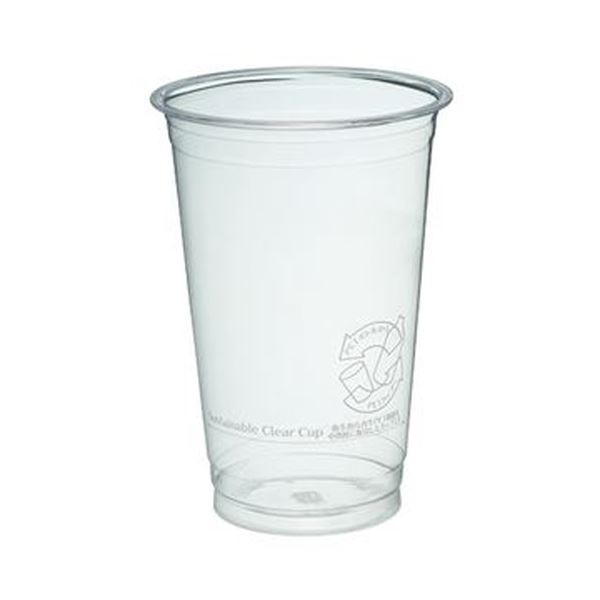 (まとめ)サンナップ サスティナブルクリアーカップ 510ml(17オンス)C92-510SCC 1パック(40個)【×20セット】 送料無料!