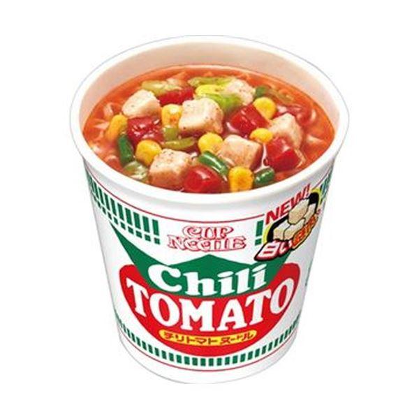 (まとめ)日清食品 カップ ヌードルチリトマトヌードル 76g 1ケース(20食)【×4セット】 送料込!