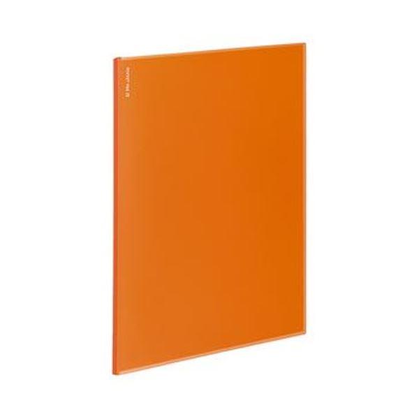 (まとめ)コクヨ ポケットファイルα(ノビータα)固定式 A4タテ 12ポケット 背幅3mm オレンジ ラ-NF12YR 1セット(10冊)【×5セット】 送料無料!