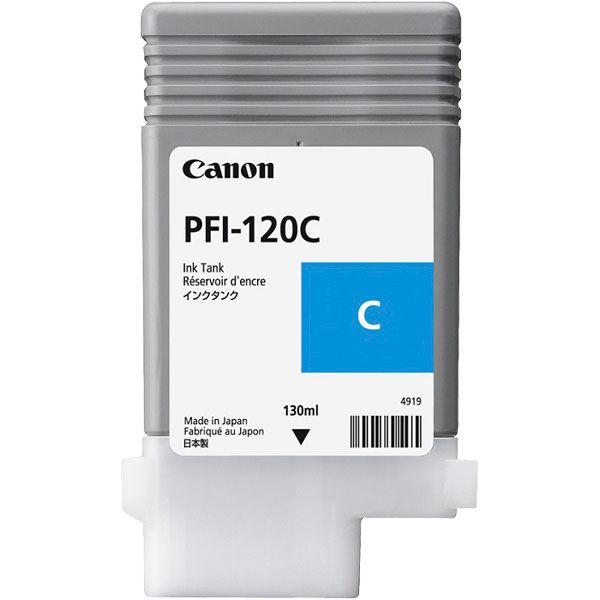 (業務用5セット)【純正品】CANON 2886C001 PFI-120C インクタンク シアン 送料無料!