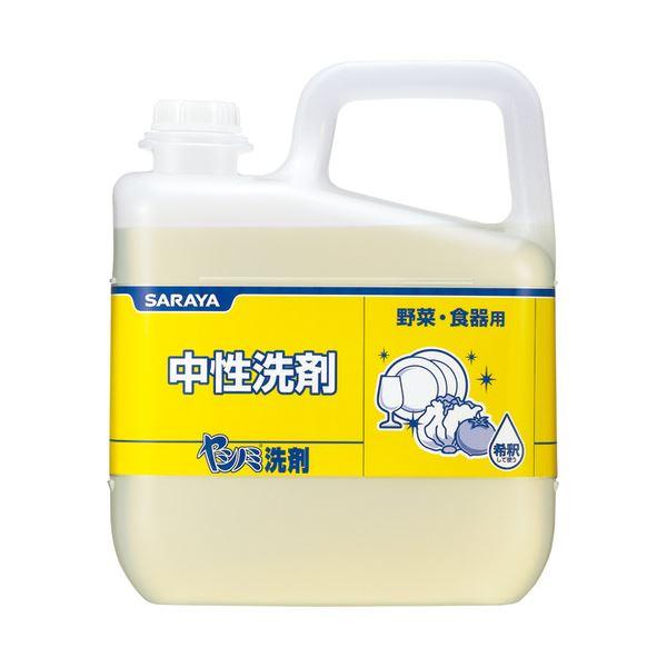 (まとめ) サラヤ ヤシノミ洗剤 業務用 5kg 1本 【×5セット】 送料無料!