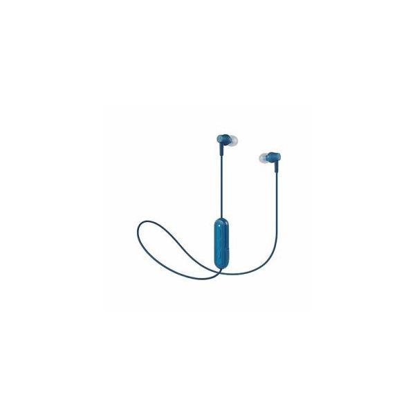 Audio-Technica ワイヤレスヘッドホン ブルー ATH-CK150BTBL 送料込!