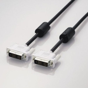 5個セット エレコム DVIシングルリンクケーブル(デジタル) CAC-DVSL50BKX5 送料無料!