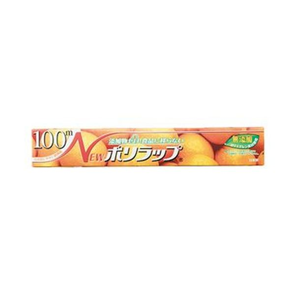 (まとめ)宇部フィルム NEWポリラップ30cm×100m 1本【×50セット】 送料無料!
