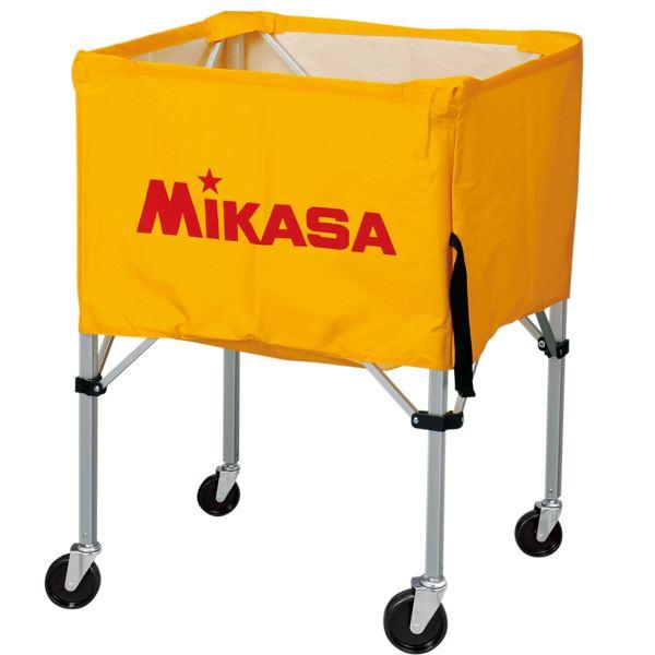 MIKASA(ミカサ)器具 ボールカゴ 屋外用(フレーム・幕体・キャリーケース3点セット) イエロー 【BCSPHL】 送料込!