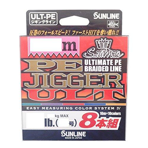 サンライン PEジガーULT 8本組 HG200M 16lb/#1