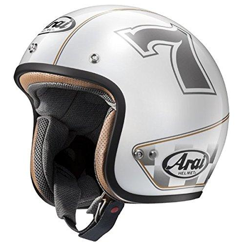 AXYヘルメット CLASSIC MOD カフェレーサー WH 59-60 L