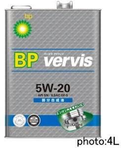 ビーピー バービス BP Vervis ブブン5W20グリフィン SN 20L SN/GF5 5W20