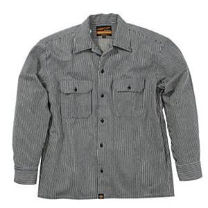 93155 NHB-1503ワークシャツ/Hブルー L