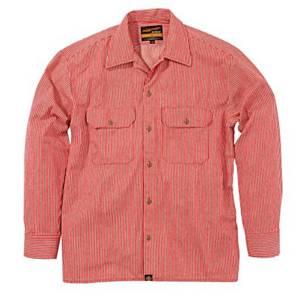 93157 NHB-1503ワークシャツ/Hレッド M