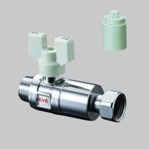 メーカー直送 逆止弁付止水弁20オネジ ナット形K144-20 期間限定特別価格 送料込み