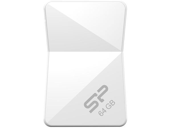 シリコンパワー USB2.0 USBメモリ(防水 / 防塵 / 耐衝撃) Touch T08シリーズ 64GB 永久保証 SP064GBUF2T08V1W