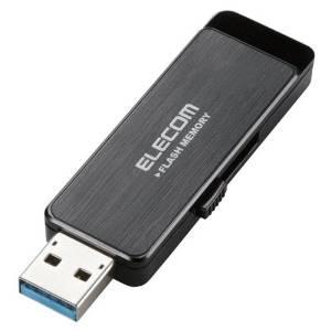 USBフラッシュ/16GB/AESセキュリティ機能付/ブラック/USB3.0(MF-ENU3A16GBK)