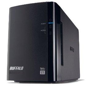 ドライブステーション ミラーリング機能 USB3.0 外付けハードディスク 2ドライブ 8TB(HD-WL8TU3/R1J)