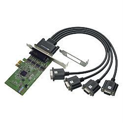 4ポート RS-232C・デジタルI/O PCI Expressボード REX-PE64D (REX-PE64D)
