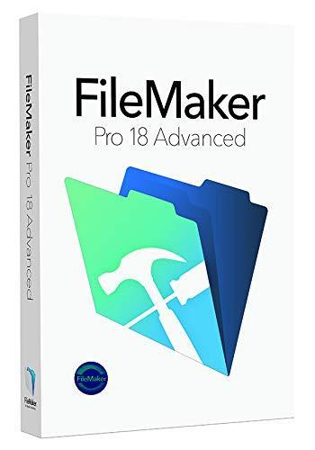 FileMaker Pro 18 Advanced[WIN&MAC](HMWX2J/A)