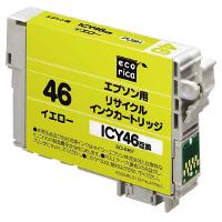 リサイクルインクカートリッジ EPSON イエロー ICY46 ECI-E46Y