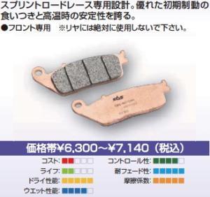 SBS・ブレーキパッド   631RS 777-0631088:生活雑貨のお店!Vie-UP