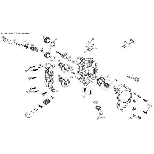 WISECOピストンタンタイ52MM DOHC -73562