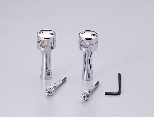 4インチドラッグポスト.テーパー クロームメッキ φ7/8インチ(22,2mm)ハンドル用 HB0434