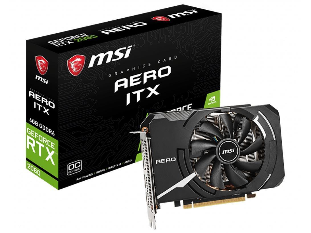 GEFORCERTX2060AEROIT GeForceRTX2060AEROITX6GOC GeForceRTX2060AEROITX6GOC