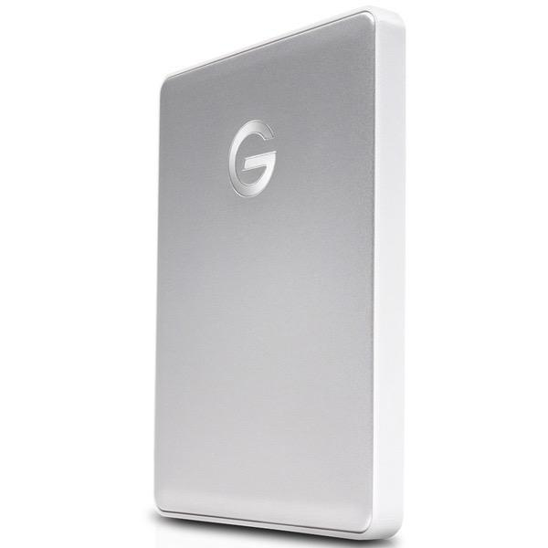 G-DRIVE mobile USB-C 1000GB Silver WW v2(0G10264)