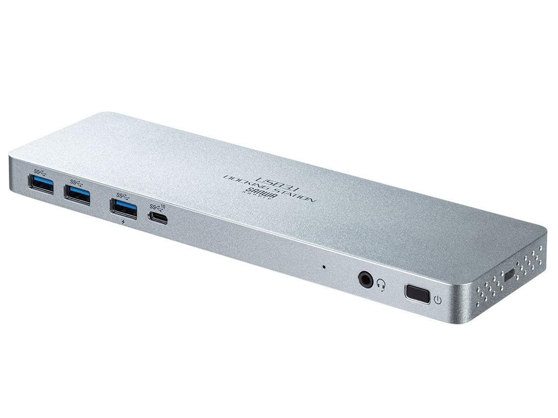 受注生産品 サンワサプライ USB Type-C専用ドッキングステーション HDMI 正規品 PD対応 USB-CVDK6 DisplayPort対応
