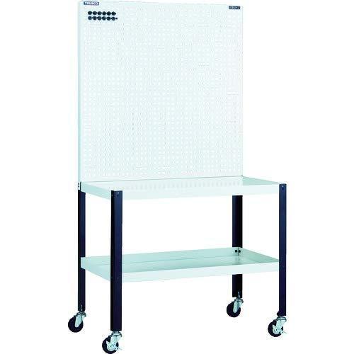 TRUSCO セール商品 ライトパンチングパネル 無料サンプルOK パネリーナ W900 キャスタTUR33C 8000 テーブル付