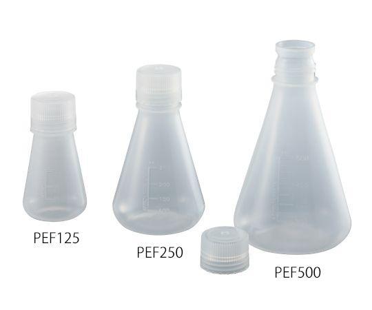 PP三角フラスコ スクリューキャップ付 PEF5003-9954-05 500mL 大人気 公式ストア