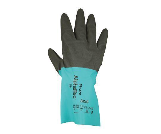 化学防護手袋 XL 価格 1双 メーカー在庫限り品 58-2704-825-04