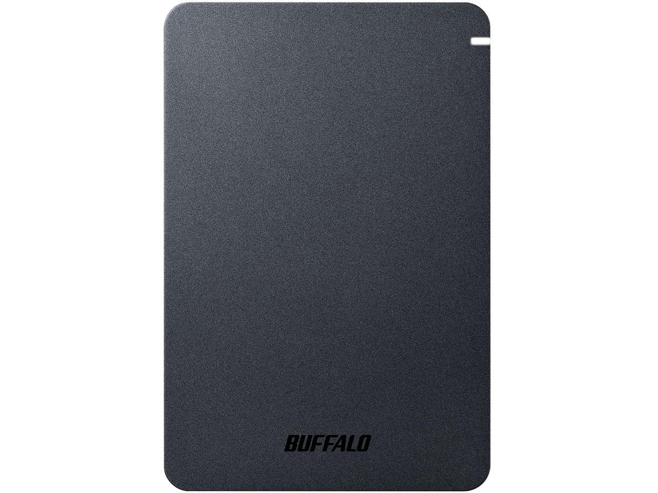 USB3.1(Gen.1)対応 耐衝撃ポータブルHDD 4TB ブラック(HD-PGF4.0U3-GBKA)