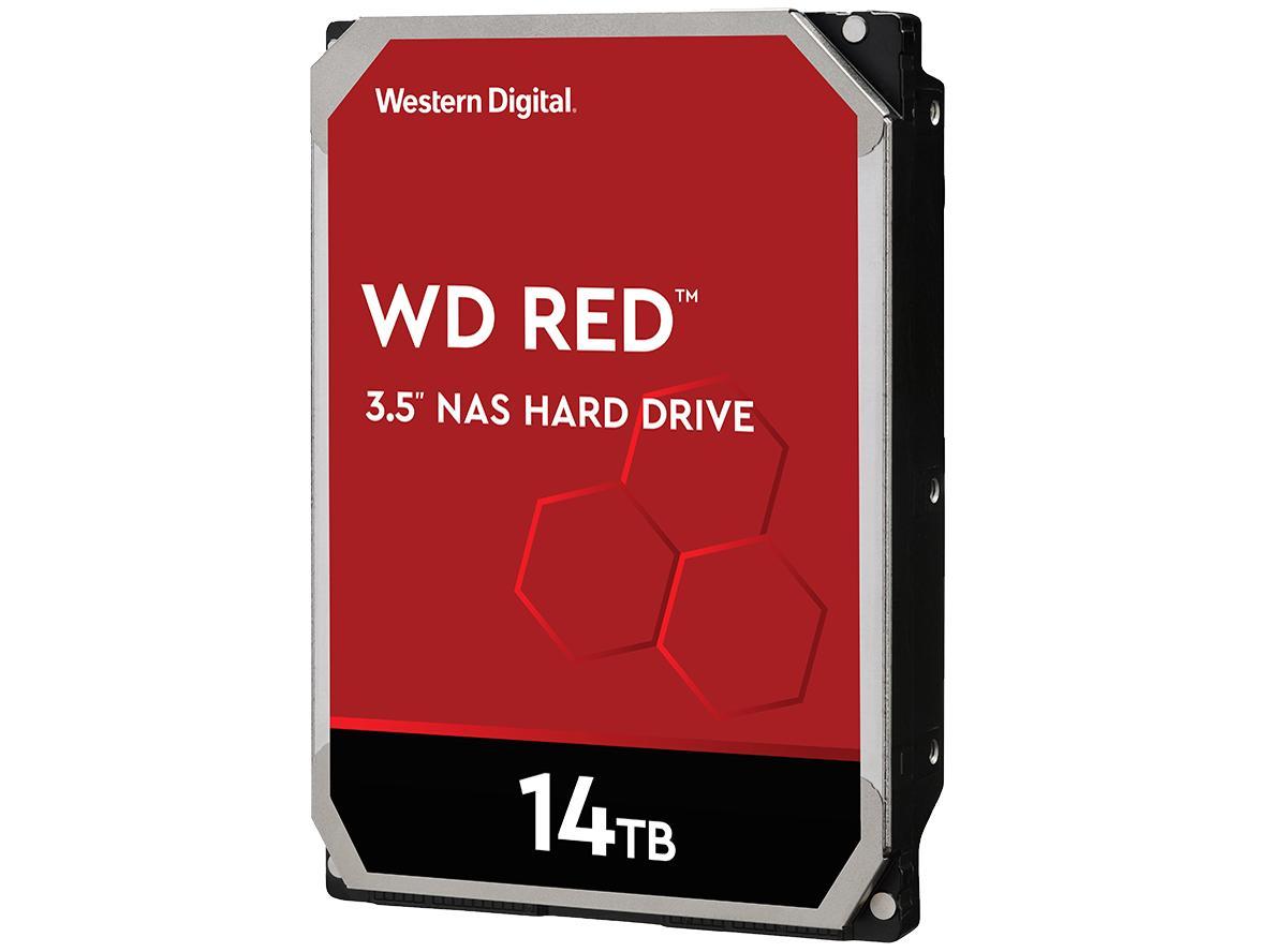 WD Red 3.5インチ内蔵HDD 14TB SATA6Gb/s 5400rpm 512MB(WD140EFFX)