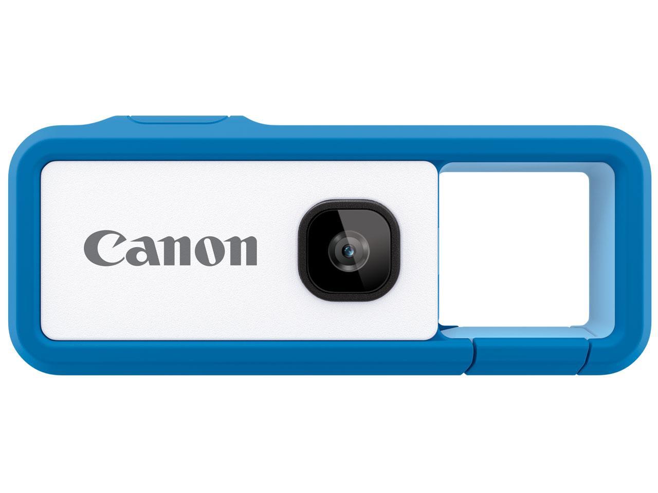 キヤノンデジタルカメラ iNSPiC REC FV-100 BLUE(FV-100 BLUE)