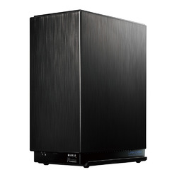 デュアルコアCPU搭載 2ドライブ高速ビジネスNAS 2TB HDL2-AA2W(HDL2-AA2W)