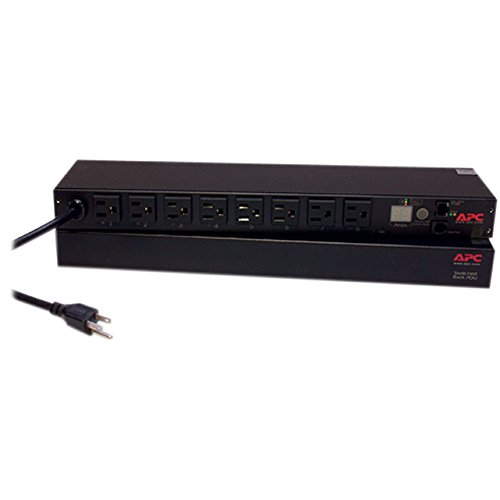 Rack PDU Switched 1U 15A 100V (8) 5-15 AP7900B(AP7900B)