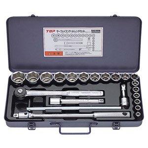 サーフェイスソケットレンチセット(差込角12.7mm) SSS-417S