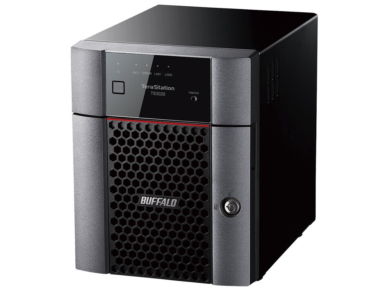 TeraStation TS3020シリーズ 4ベイデスクトップ 2TB(TS3420DN0204)