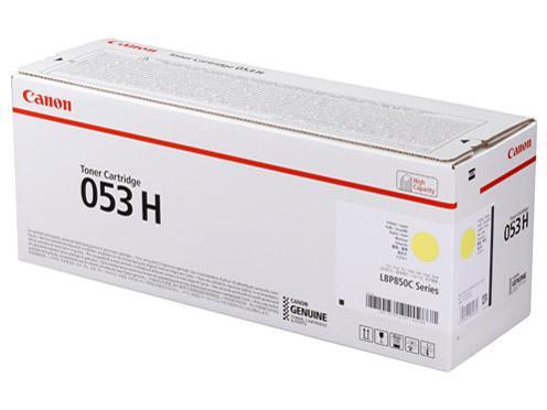 CRG-053HYEL トナーカートリッジ053 H イエロー(2191C001)