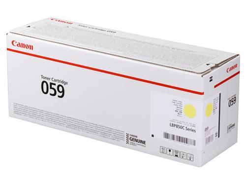 CRG-059YEL トナーカートリッジ059 イエロー(3620C001)