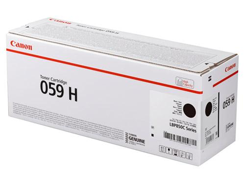 CRG-059HBLK トナーカートリッジ059 H ブラック(3627C001)