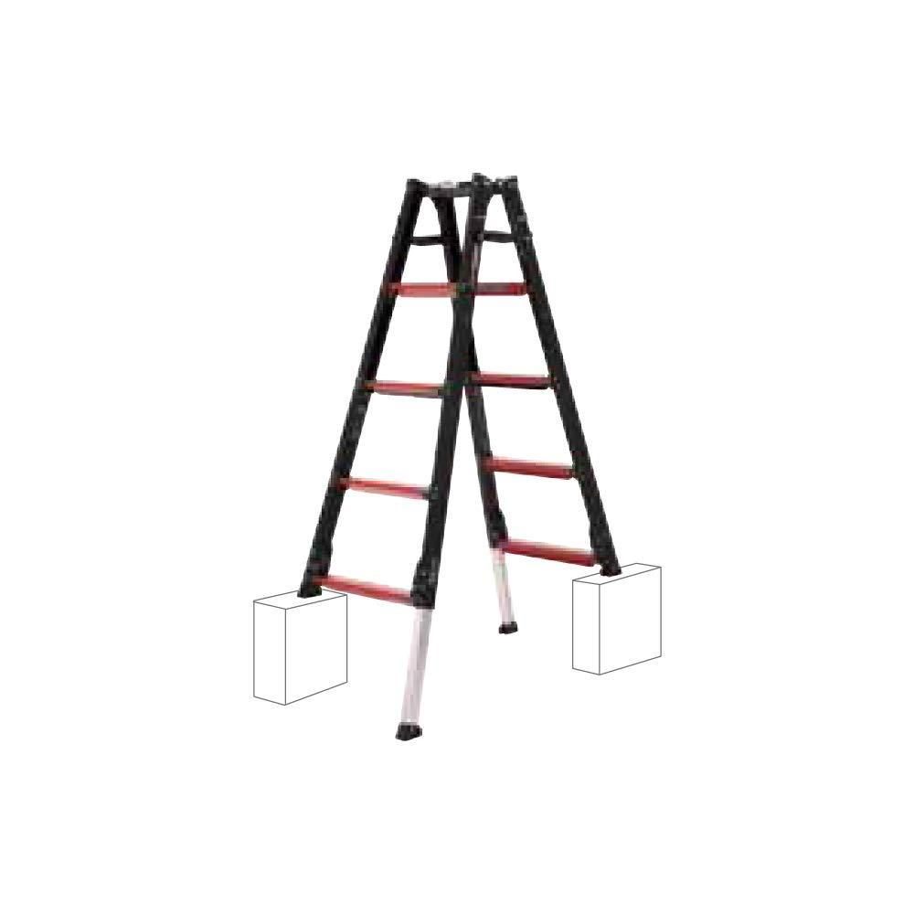 GUD上部操作式伸縮脚付はしご兼用脚立(GUD-150)