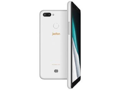 jetfon P6 ホワイト SIMフリースマートフォン(ELTP18A04-WH)