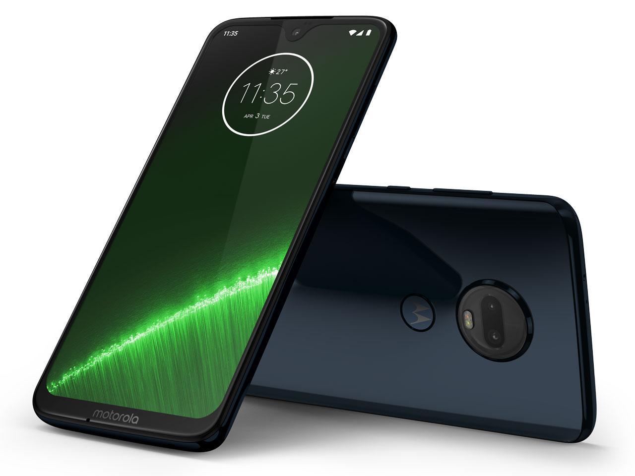 SIMフリースマートフォン Moto G7+ ディープインディゴ(PADU0003JP)