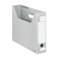 ファイルボックス-FS 新着 DタイプA4横 全品送料無料 A4-SFD-M 収容幅67mmグレー