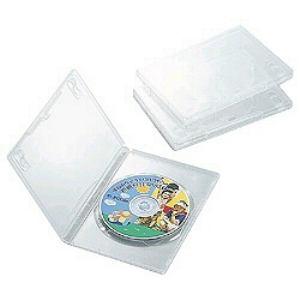 パソコン 周辺機器 メディア 消耗品類 高価値 DVDトールケース 驚きの価格が実現 クリア 1枚 CCD-DVD01CR 3個