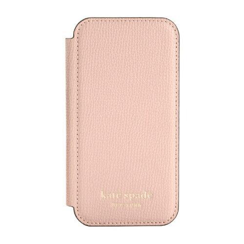 【値下げ】 iPhone 12 mini KSNY Folio Case - PVC/Pale Vellum PC /Gold Logo(KSIPH-167-PLVM), サニタリーショーツのさくらスター a55d598e