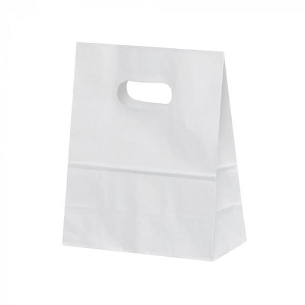 パックタケヤマ 紙袋 イーグリップ 高額売筋 完全送料無料 S XZT52014 50枚×10包 白無地