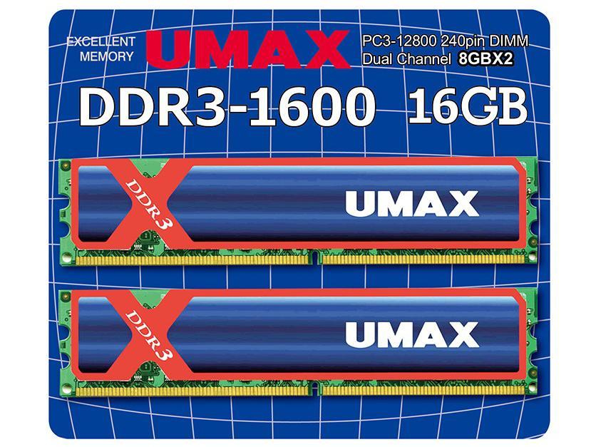 受賞店 UM-DDR3D-1600-16GBHS 新作販売