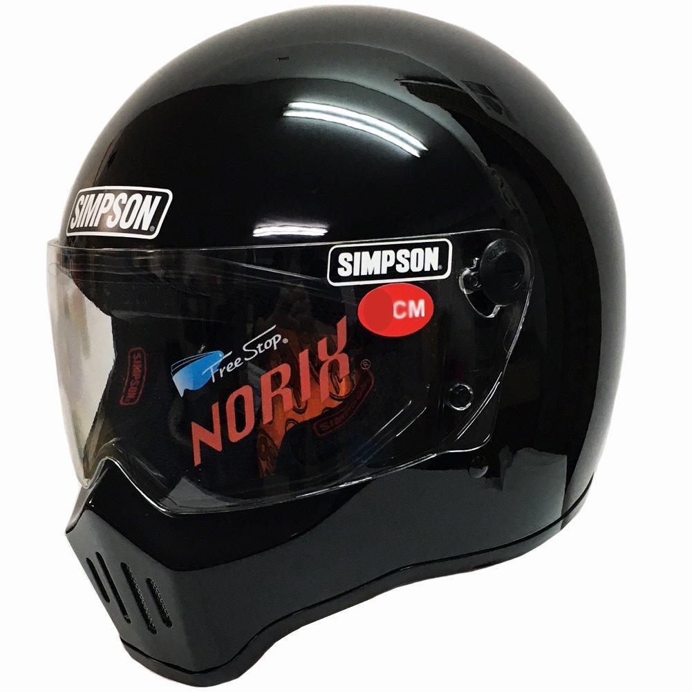 最安値挑戦 シンプソンヘルメット SIMPSON RX1 3311116000 60 激安挑戦中 BLK